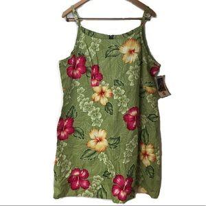 Hilo Hattie Dress The Hawaiian Original XL NWT New